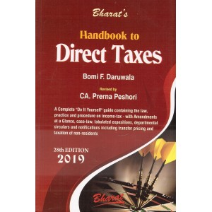 Bharat's Handbook to Direct Taxes 2019 by Bomi F. Daruwala & CA. Prerna Peshori