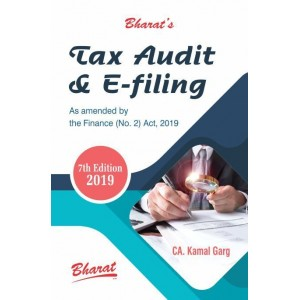 Bharat Law House's Tax Audit & E-filing 2019-20 by CA. Kamal Garg