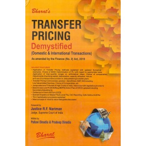 Bharat's Transfer Pricing Demystified (Domestic & International Transactions) [HB] by Pallavi Dinodia & Pradeep Dinodia