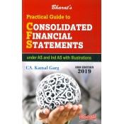 Bharat's Practical Guide to Consolidated Financial Statements Under AS and Ind AS with Illustrations by CA. Kamal Garg