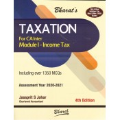Bharat's Taxation (Module 1 : Income Tax) for CA Inter May & November 2020 Exam [Old & New Syllabus] by Jassprit S. Johar