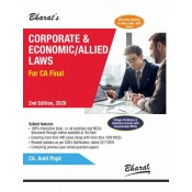 Bharat's Corporate & Economic/Allied Laws for CA Final May 2020 Exam [Old & New Syllabus] by CA. Amit Popli