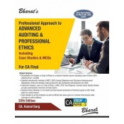 Bharat's Professional Approach to Advanced Auditing & Professional Ethics for CA Final May 2020 Exam [Old & New Syllabus] by CA Kamal Garg
