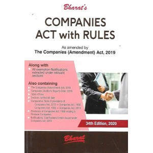 Bharat's Companies Act with Rules (Pocket) by Adv. Ravi Puliani & Mahesh Puliani