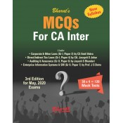 Bharat's MCQs for CA Inter May 2020 Exam [New Syllabus] by CS. Amit Vohra, CA. Jassprit S. Johar [Containing Corporate & Other Laws, DT/IDT Laws, Auditing & Assurance & Enterprise Info. System & SM]