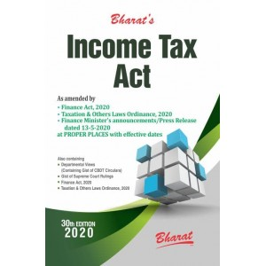 Bharat's Income Tax Act 2020 by Ravi Puliani & Mahesh Puliani