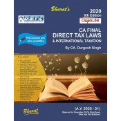 Bharat's Capsule Studies on Direct Tax Laws & International Taxation for CA Final November 2020 Exam [New & Old Syllabus] by CA. Durgesh Singh