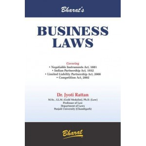 Bharat's Business Laws by Dr. Jyoti Rattan