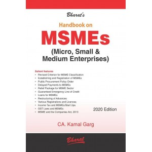 Bharat's Handbook on MSMEs (Micro, Small & Medium Enterprises) by CA. Kamal Garg