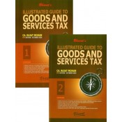 Bharat's Illustrated Guide to Goods & Services Tax [GST] by CA. Rajat Mohan [2 Vols.]