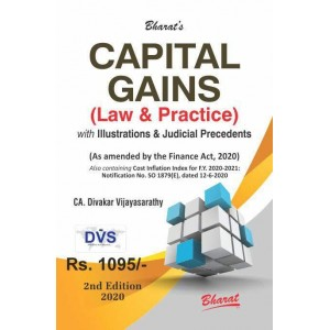 Bharat's Capital Gains (Law & Practice) by CA. Divakar Vijayasarathy