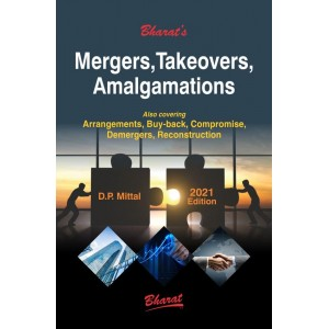 Bharat's Mergers, Takeovers, Amalgamation by D. P. Mittal