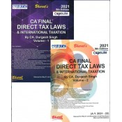 Bharat's Capsule Studies on Direct Tax Laws & International Taxation for CA Final May 2021 Exam [New & Old Syllabus] by CA. Durgesh Singh