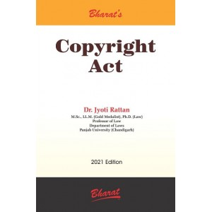 Bharat's The Copyright Act by Dr. Jyoti Rattan