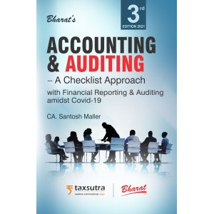 Bharat's Accounting & Auditing - A Checklist Approach by CA. Santosh Maller