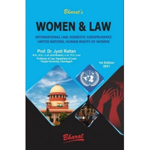 Bharat's Women & Law by Dr. Jyoti Rattan