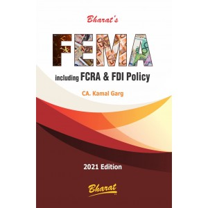Bharat's FEMA including FCRA & FDI Policy by CA. Kamal Garg