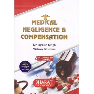 Bharat Law Publication's Medical Negligence & Compensation [HB] by Dr. Jagdish Singh, Vishwa Bhushan
