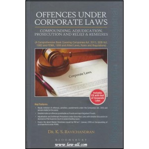 Bloomsbury's Offences Under Corporate Laws with CD by Dr. K. S. Ravichandran