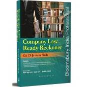 Bloomsbury's Company Law Ready Reckoner by CA CS Jainum Shah