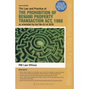 Bloomsbury's The Law & Practice of The Prohibition of Benami Property Transaction Act, 1988 by PAV Law Offices