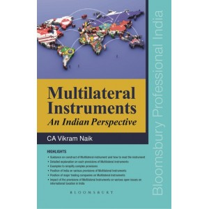 Bloomsbury's Multilateral Instruments An Indian Perspective by CA. Vikram Naik