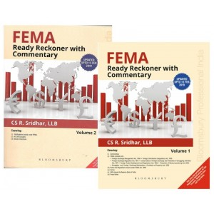Bloomsbury's FEMA Ready Reckoner with Commentary 2019 by CS. R. Sridhar [2 Volumes]