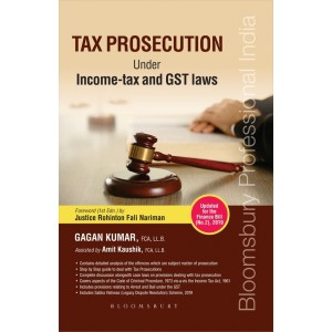 Bloomsbury's Tax Prosecution Under Income Tax and GST Laws by Gagan Kumar