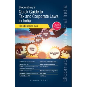 Bloomsbury's Quick Guide to Tax and Corporate Laws in India including Allied Laws