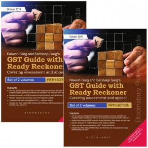 Bloomsbury's GST Guide with Ready Reckoner 2019-2020 [2 Vols] by Rakesh Garg & Sandeep Garg