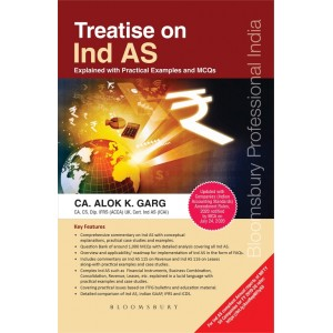 Bloomsbury's Treatise on Ind AS by CA. Alok K. Garg