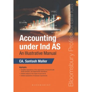 Bloomsbury's Accounting under Ind AS: An Illustrative Manual by CA. Santosh Maller