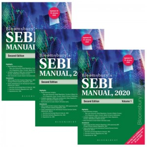 Bloomsbury's SEBI Manual 2020 [Set of 3 Volumes]