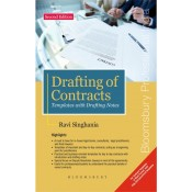 Bloomsbury's Drafting of Contracts Templates with Drafting Notes [HB] by Ravi Singhania