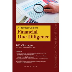 Bloomsbury's Practical Guide to Financial Due Diligence by B. D. Chatterjee