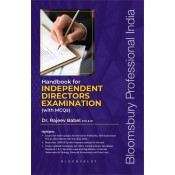 Bloomsbury's Handbook for Independent Directors Examination with MCQ's by Dr Rajeev Babel  [Edition 2020]