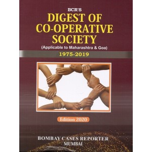 Bombay Cases Reporter's Digest of Co-operative Society (Applicable to Maharashtra & Goa) 1975-2019 [HB]