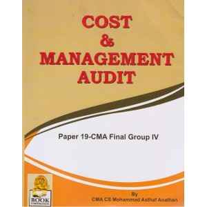 Book Corporation's Cost & Management Audit for CMA Final Group IV Paper 19 June/Dec. 2017 Exam by CMA CS Mohammad Asthaf Anathan