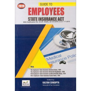Book Corporation's Guide to Employees State Insurance Act by Kalyan Sengupta