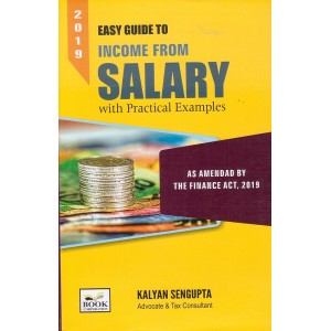 Book Corporation's Easy Guide to Income From Salary with Practical Examples by Kalyan Sengupta