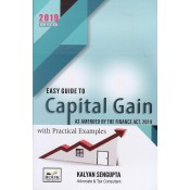 Book Corporation's Easy Guide to Capital Gain as amended by The Finance Act, 2019 with Practical Examples by Kalyan Sengupta