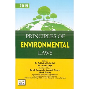 Book Corporation's Principles of Environmental Laws [HB] by Dr. Rabindra Kr. Pathak, Ms. Surbhi Singh