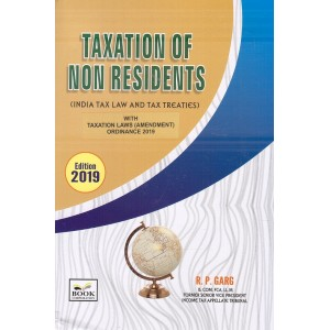 Book Corporation's Taxation of Non Residents (India Tax Law and Tax Treaties) [HB] by R. P. Garg