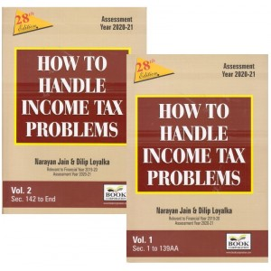 Book Corporation's How to Handle Income Tax Problems by Adv. Narayan Jain & Dilip Loyalka [2 HB Volumes]