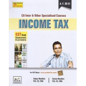 Book Corporation's Income Tax for CA Inter May 2020 Exam by Sanjay Mundhra, Suman Mundhra