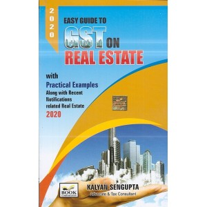 Book Corporation's Easy Guide to GST on Real Estate by Kalyan Sengupta
