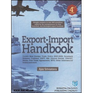 Business Datainfo Publishing Company's Export-Import Handbook by Ajay Srivastava