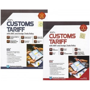 BDP's Customs Tariff with IGST and Foreign Trade Policy by Anand Garg (2 Vols. 2020-21)