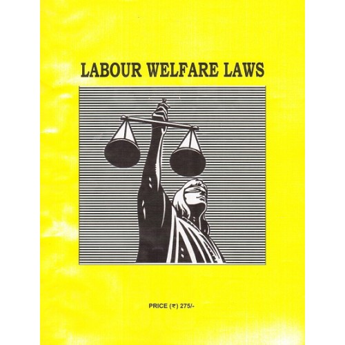 Jhabvala Law Series - Labour Welfare Laws for BSL & LL.B by C. Veena for C.Jamnadas & Co.