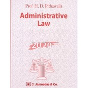 Jhabvala Notes on Administrative Law for B.S.L & LL.B by Pithavala, C.Jamnadas & Co